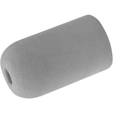 Portalámparas decorativo de cemento completo E27 50x90m. (GSC 2204634)