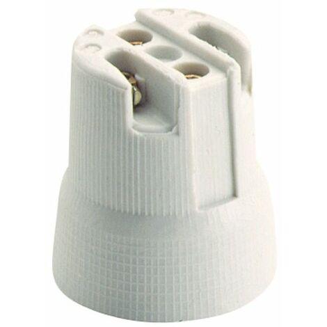 Portalámparas E-27 de porcelana campana 678E Solera