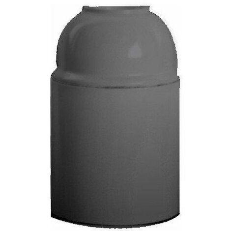 Portalamparas E14 Baquelita Rosca Metal Color Negro 9340