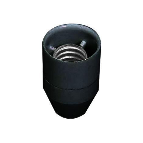 Portalámparas E14 cónico negro(F-Bright 1200247-N) (Blíster)