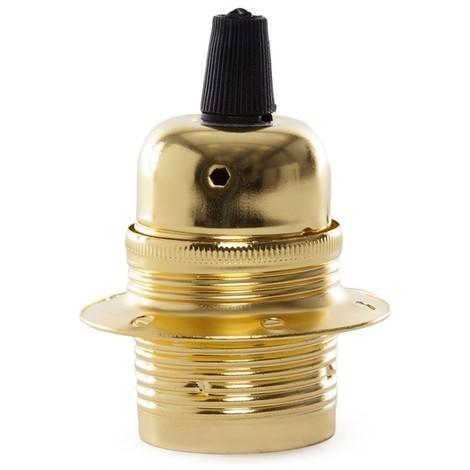 Portalámparas E27 Bistro Oro [AM-AH022] (AM-AH022)
