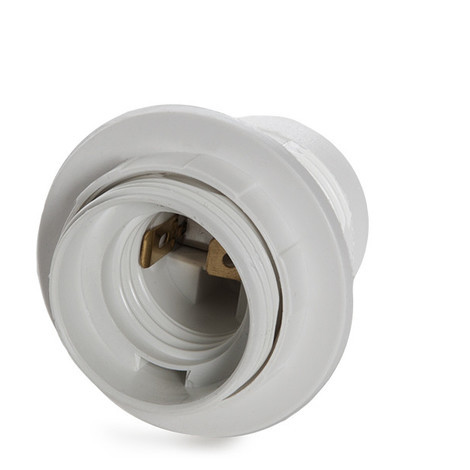 Portalámparas E27 Blanco (TB-E27W)