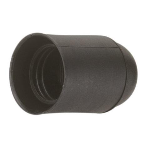 Portalámparas E27 Color Negro 4 A 250 V Electro DH. 12.092/N 8430552086306