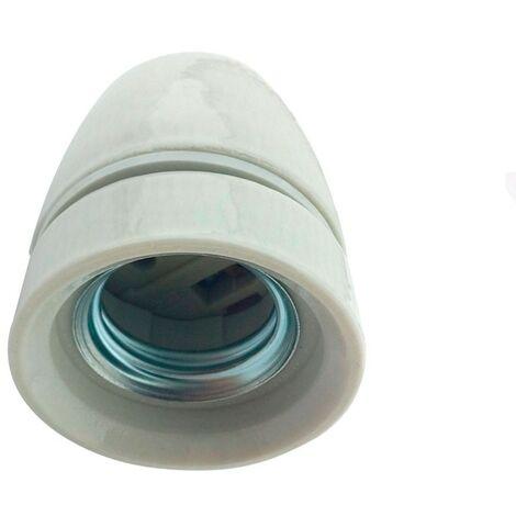 Portalámparas E27 de porcelana
