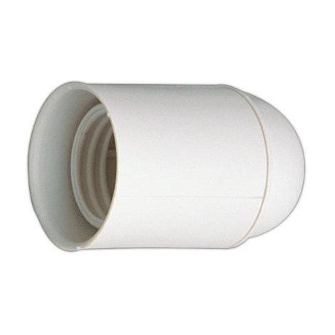Portalámparas E27 En Blister Color blanco 4 A 250 V Electro DH. 12.092/B/BT 8430552099764