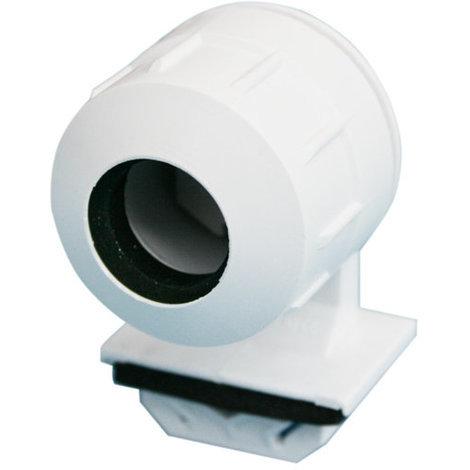 Portalámparas estanco para tubo fluorescente tipo T5 Color blanco Electro DH. 12.144/T5 8430552141623