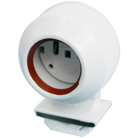 Portalámparas estanco para tubo fluorescente tipo T8 Color blanco Electro DH. 12.144/T8 8430552141630