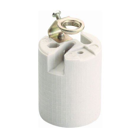 Portalámparas de porcelana E27 250V 4A (Solera 582A) (Granel)