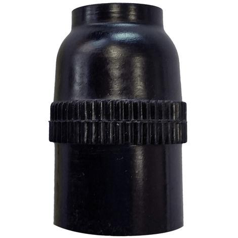 Portalámparas negro E14 tamaño reducido (F-Bright 1200245-N)
