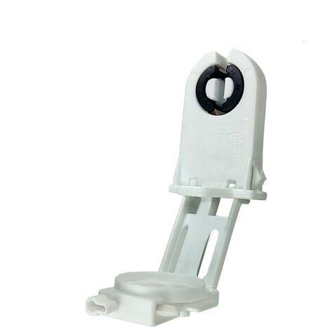 Portalamparas para fluorescentes T8 con Portacebador