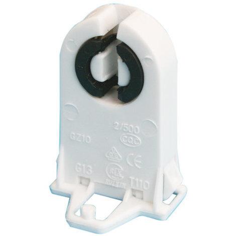 Portalámparas para tubo fluorescente tipo T8 Casquillo G13 Electro DH. 12.140 / T8 8430552141609