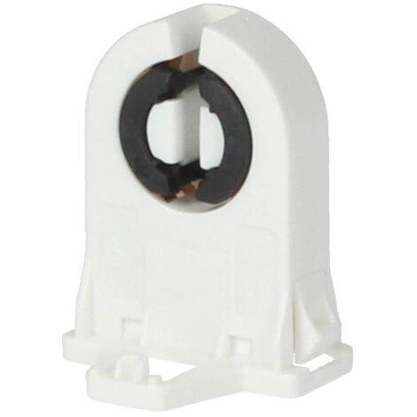 Portalamparas para tubos G13 Blanco
