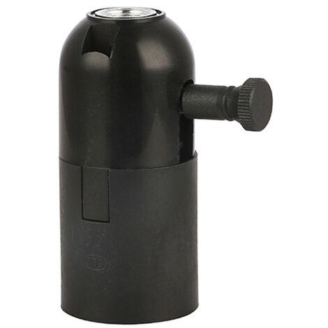 Portalámparas plástico E27 con regulador (F-Bright 1203002)