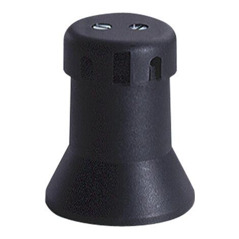 Portalámparas tipo feria E27 negro (Solera 6109)