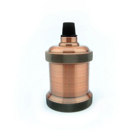 Portalámparas vintage E27 bronce