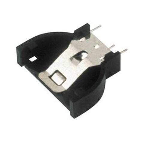 Portapilas con impreso para pilas tipo botón (CR2016 - CR2032 - CR2025).posición vertical Electro Dh 33.086 8430552088607