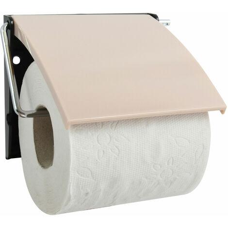 """Portarollos de papel MSV """"Sumba"""" de poliestireno en color beige 13 x 12 x 5 cm"""