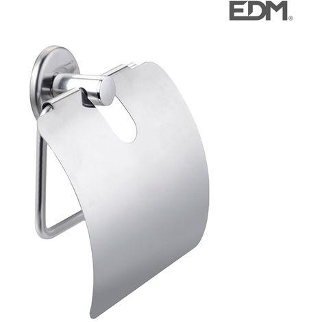 PORTAROLLOS WC - CON TAPA - (ENVASADO) - EDM
