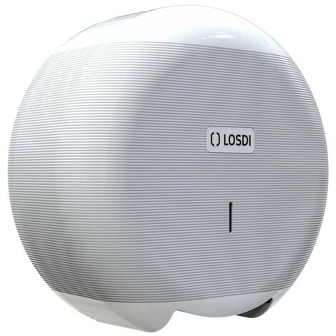 Portarrollo Baño Indust 266X276X115Mm Abs Bl Eco Luxe Losdi