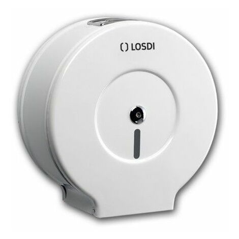 Portarrollo Baño Mecanico Metal Epoxi Blanco Co0203R Losdi