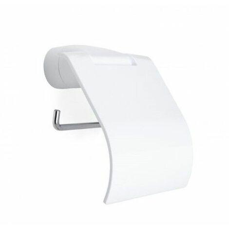 Portarrollo Baño Mural Tapa Fijacion Blanco Alpha Tatay