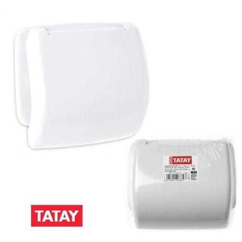 Portarrollos baño blanco Tatay