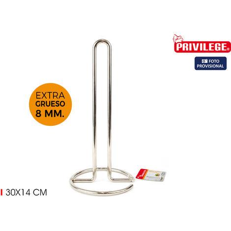 Portarrollos Cocina Metal 30x14cm Privilege