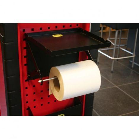 portarrollos de papel estante compartimentado + r