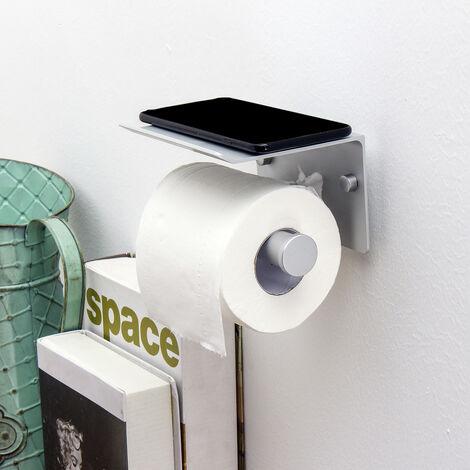 """main image of """"Portarrollos de papel higiénico Papel en rollo Dispensadores independientes Guardarropa de pared (negro, negro)"""""""