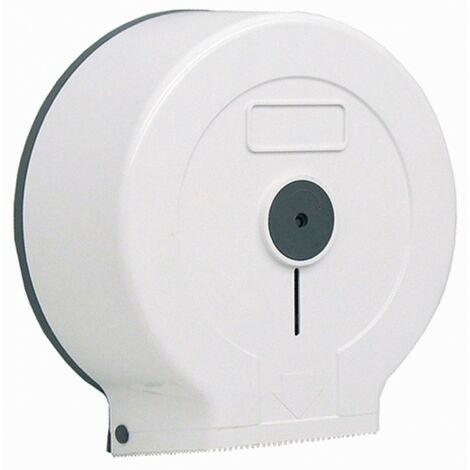 Portarrollos higiénico industrial ABS blanco - CM Baños
