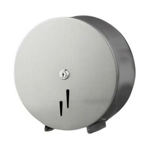 Portarrollos higiénico industrial acero inosidable satinado - CM Baños