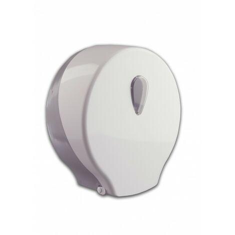 Portarrollos higiénico industrial Blanco/Gris - CM Baños