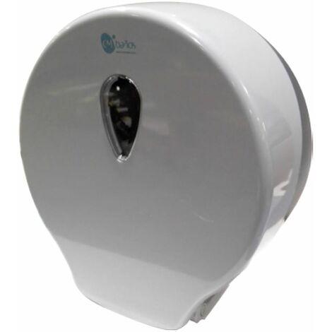 Portarrollos higiénico industrial Gris claro/Gris oscuro - CM Baños