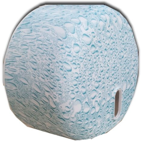 Portarrollos papel higiénico Gota azul M45