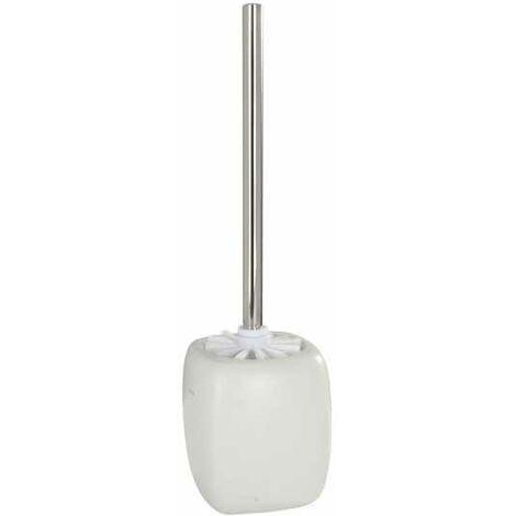 Wenko 21779100 Turbo Loc, Supporto per asciugacapelli, montaggio a parete senza fori, in acciaio INOX lucido, 12,5 x 9 x 11,5 cm, Argento (Silber)
