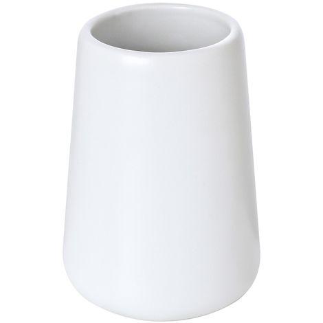Accessori Bagno In Ceramica Bianca.Portaspazzolino Bianco In Ceramica Linea Sidney Arredo Bagno