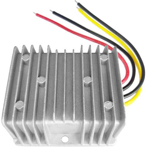 Portatil convertidor DC / DC 24V Regulador bajar a 12V 15A 180W ahorro de energia del transformador a prueba de agua, 4 #