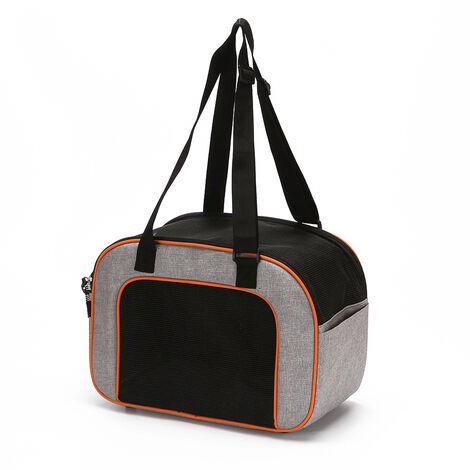 Portatil de gatos domesticos Perros gato portador del animal domestico bolsa de viaje Disenado para los que va de excursion al aire libre para caminar dentro de 4 kg de peso, Rojo