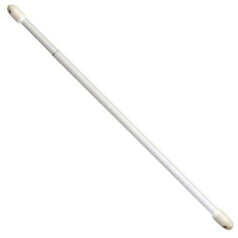 Portavisillos extensible oval blanco 60- 80 cm. (2 piezas)