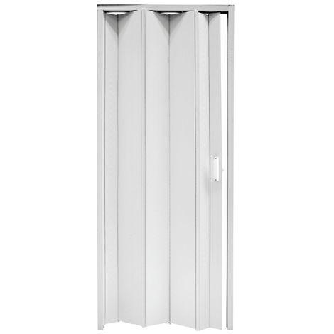 Porte a soffietto economiche in Kit 83 x 214 Bianco