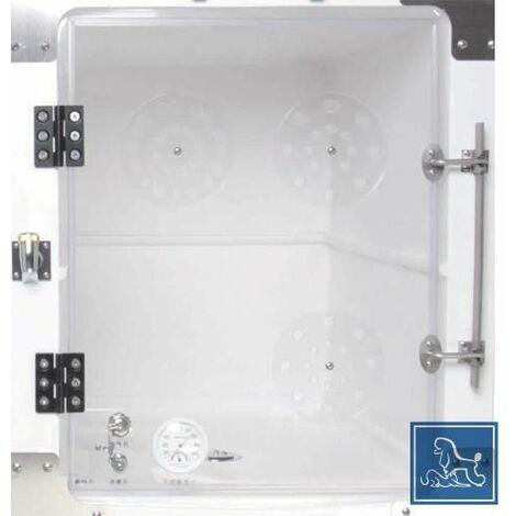 Porte acrylique avec thermometre et hygrometre pour a0630