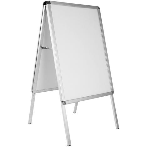 Porte-affiche - double face publicitaire en aluminium - Format A1 entreprises