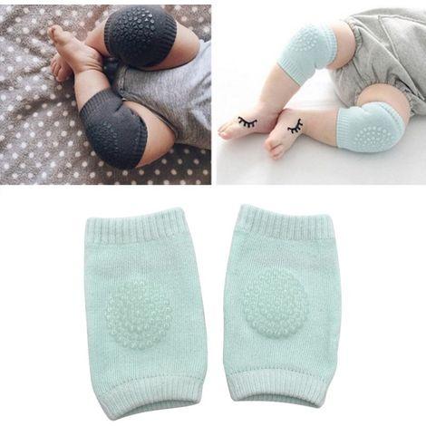 Porte bébé vert Une paire anti-dérapant enfants rampant marche protège-genou protection protège-coude