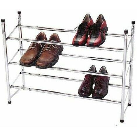 """main image of """"Porte-Chaussures métallique à 3 étagères"""""""