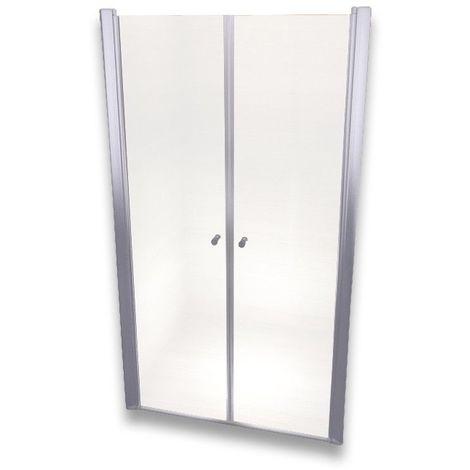 Porte de douche 195 cm largeur réglable