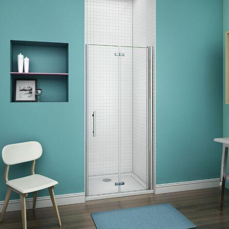 70x185cm porte de douche charni re paroi de douche porte. Black Bedroom Furniture Sets. Home Design Ideas