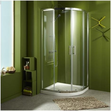 Porte de douche accès circulaire 'rémi' 90X90X190cm