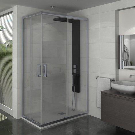 Porte de douche accès d'angle Manhattan