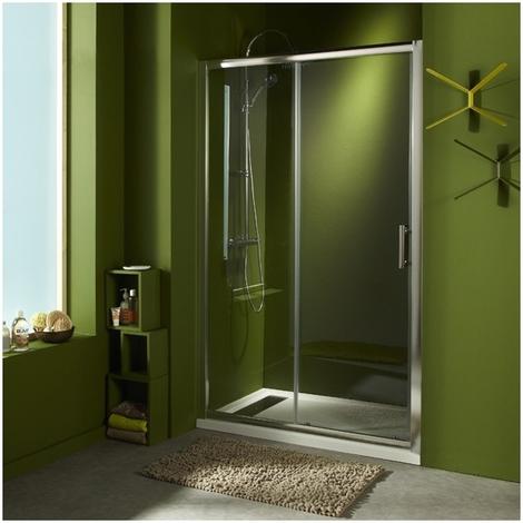 Porte de douche coulissante 'Laurence' 120x190 cm