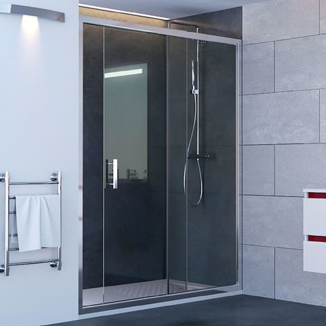 Porte de douche coulissante NERINA 120 cm - 6mm